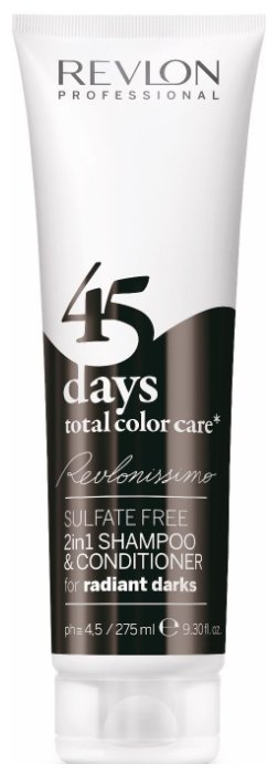 Шампунь Revlon Professional Revlonissimo 45 Days Total Color Care 2 in 1 for Radiant Darks