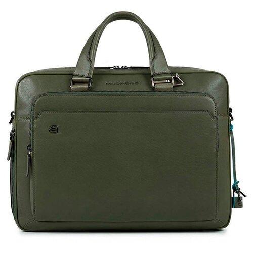 Сумка PIQUADRO CA4027B3 зеленый сумка piquadro ca4027b3 синий