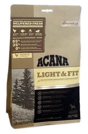 Корм для собак Acana Heritage Light & Fit