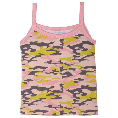 Купить Майка KotMarKot размер 116, розовый милитари, Футболки и майки