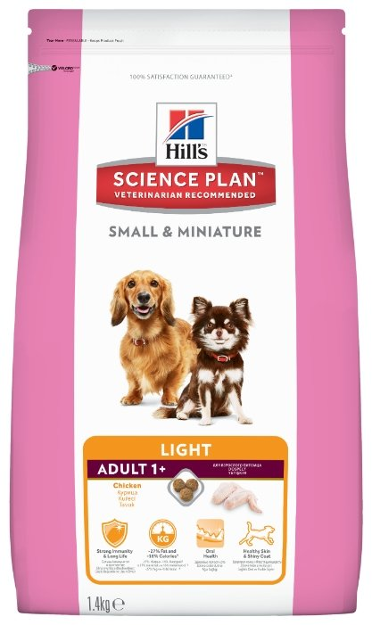 Корм для собак Hill's Science Plan Canine Adult Small & Miniature Light with Chicken