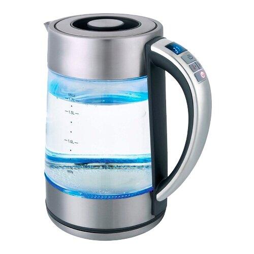 Чайник Gemlux GL-EK-895GC, серебристый чайник электрический gemlux gl ek7720