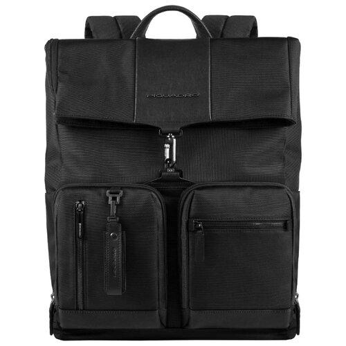 Рюкзак PIQUADRO CA4533BR черный рюкзак piquadro ca3214b3 зеленый