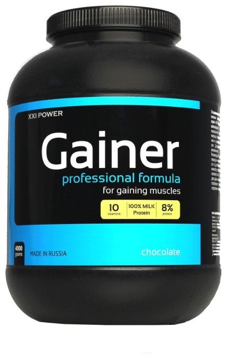 Гейнер XXI Power Gainer (4 кг) в банке