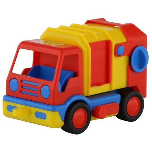 Купить Мусоровоз Wader Коммунальный автомобиль Базик (9609) 19 см, Машинки и техника
