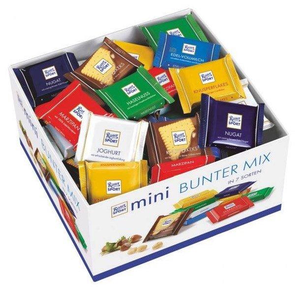"Набор мини-шоколада Ritter Sport ""Яркая коллекция"" 84шт"