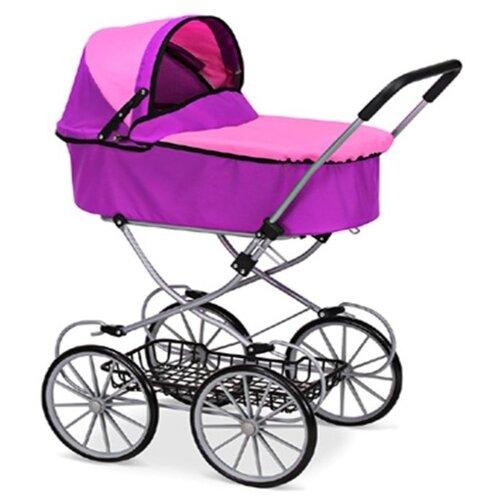 Купить Коляска-люлька Melobo / Melogo 9673 фиолетово-розовый, Коляски для кукол