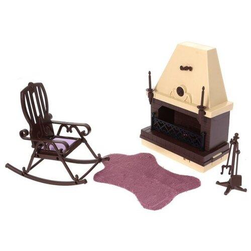 Фото - ОГОНЁК Набор мебели для каминной комнаты Коллекция (С-1301) коричневый огонёк дачный дом коллекция с 1360