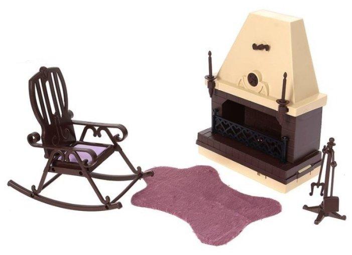 ОГОНЁК Набор мебели для каминной комнаты Коллекция (С-1301)