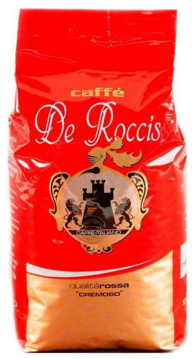 Кофе в зернах De Roccis Rossa Cremoso