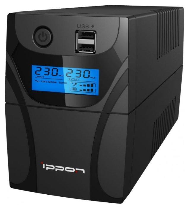 Источник бесперебойного питания IPPON Back Power Pro II Euro 650, 650ВA [1005511]