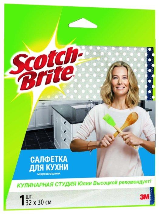Салфетка микроволоконная для кухни Scotch-Brite MW-K