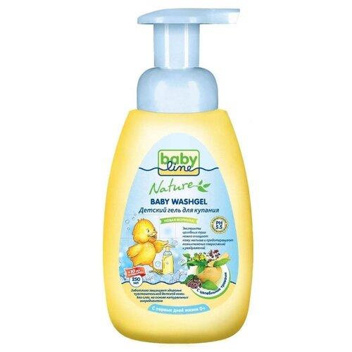 Купить BabyLine Nature Гель для купания с целебными травами 260 мл, Средства для купания