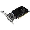 Видеокарта GIGABYTE GeForce GT 730 902Mhz PCI-E 2.0 2048Mb 5000Mhz 64 bit DVI HDMI HDCP Low Profile