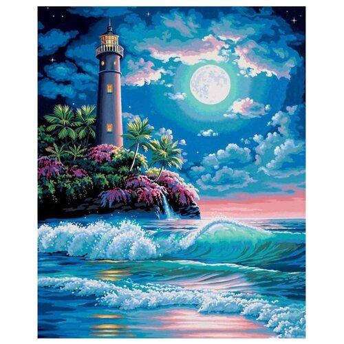 Купить Color Kit Картина по номерам Маяк 30х40 см (KS026), Картины по номерам и контурам