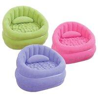 Надувное кресло Intex (Интекс) Lounge'N Chair (68563) Светло-зеленое (без насоса)