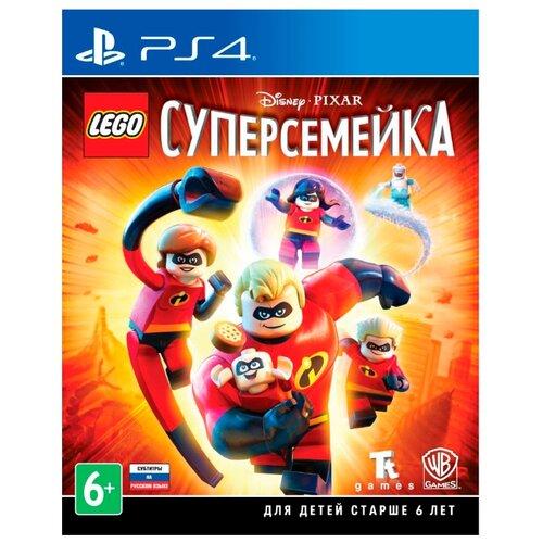 Игра для PlayStation 4 LEGO The Incredibles