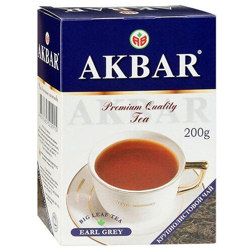 Чай черный Akbar Earl Grey, 200 г