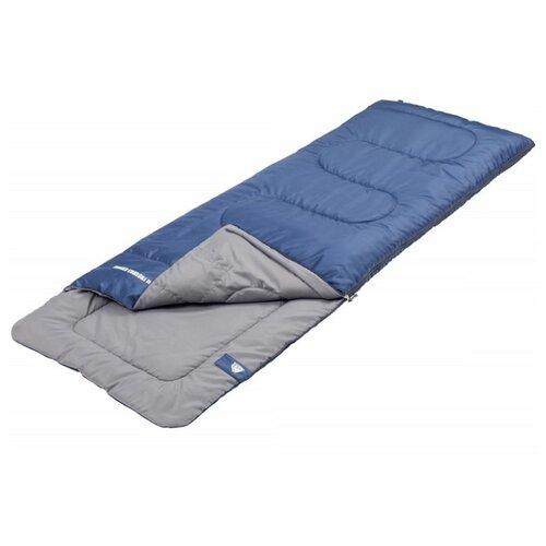 Спальный мешок TREK PLANET Ranger Comfort Jr синий с левой стороны спальник trek planet traveller comfort 70383 r