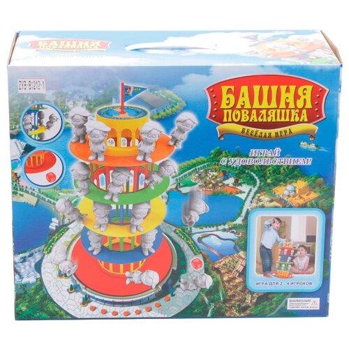 Купить Настольная игра Zhorya Башня поваляшка, Настольные игры