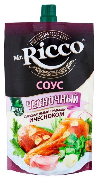 Соус Mr.Ricco Чесночный, 210 г