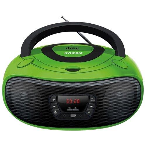 Магнитола Hyundai H-PCD240/H-PCD260/H-PCD280/H-PCD300 зеленый/черный