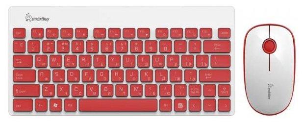 Клавиатура и мышь SmartBuy SBC-220349AG-RW White USB