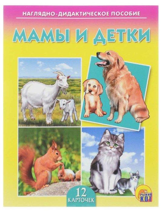 Набор карточек Рыжий кот Мамы и детки 16.5x21.5 см 12 шт.