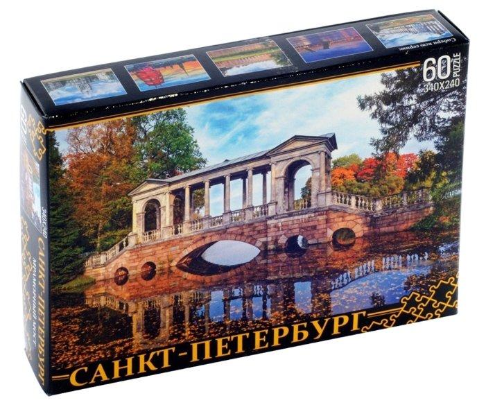Пазл Нескучные игры Санкт-Петербург Мраморный мост (7946), 60 дет.
