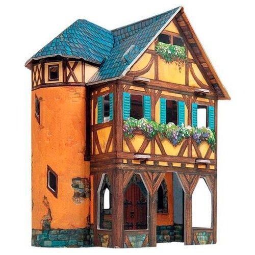 Сборная модель Умная Бумага Средневековый город: Ткацкая мастерская (370)