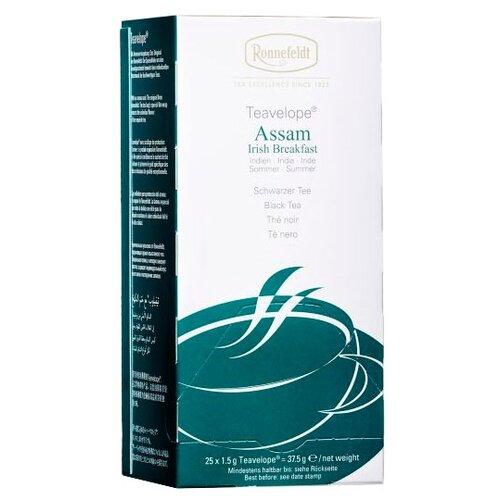Чай черный Ronnefeldt Teavelope Assam Irish breakfast в пакетиках, 25 шт.
