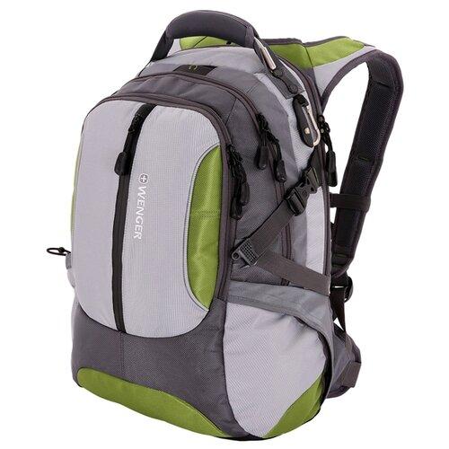 Рюкзак WENGER 15914415 зеленый/ серый