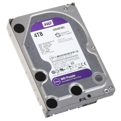 Жесткий диск Western Digital WD Purple 4 TB (WD40PURZ)