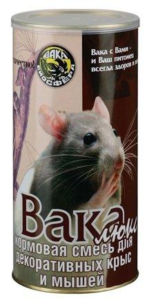 Кормовая смесь для декоративных крыс и мышей Вака Люкс