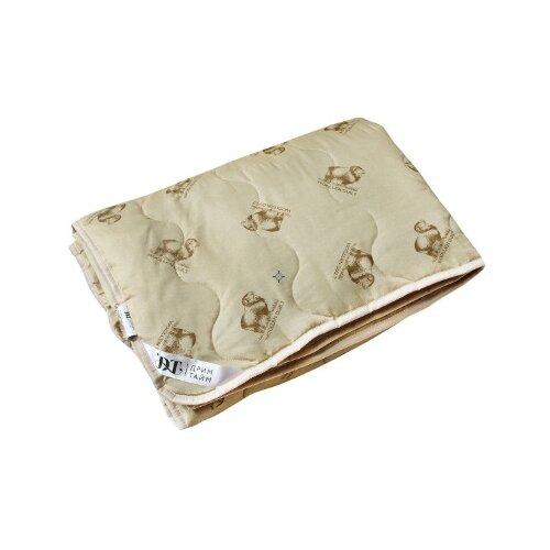 Купить со скидкой Одеяло DREAM TIME Овечья шерсть 150 г/кв.м бежевый 172 х 205 см