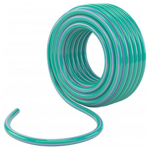Шланг PALISAD поливочный армированный 3-х слойный 3/4 25 метров (67651) голубой/фиолетовый шланг palisad поливочный армированный 3 х слойный 3 4 25 метров 67645 зеленый голубой