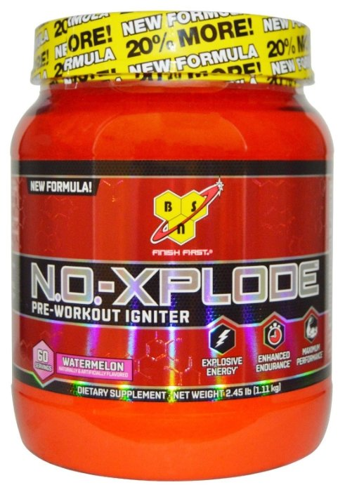 Предтренировочный комплекс BSN N.O.-Xplode (1,11 кг)