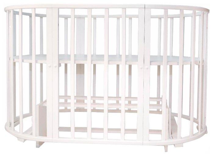 Кроватка Топотушки Олимпия (трансформер)