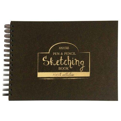 Купить Скетчбук для рисования Кройтер 27 х 20.7 см, 70 г/м², 70 л., Альбомы для рисования