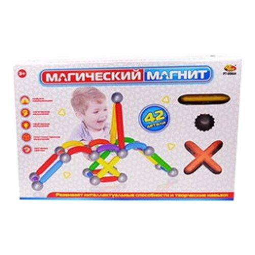 Магнитный конструктор ABtoys Магический магнит PT-00864 магнитный конструктор abtoys магический магнит с магнитом внутри 32 детали pt 00863