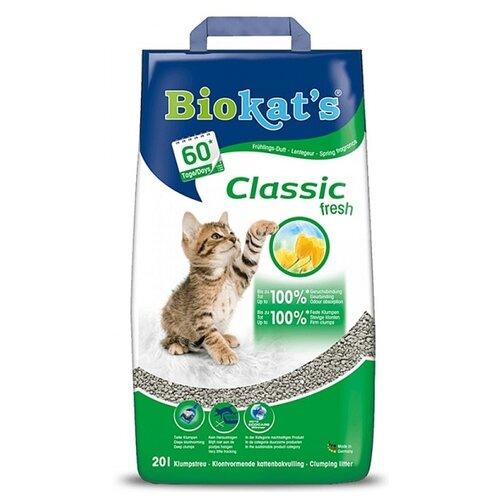 Комкующийся наполнитель Biokat's Classic Fresh 20 л