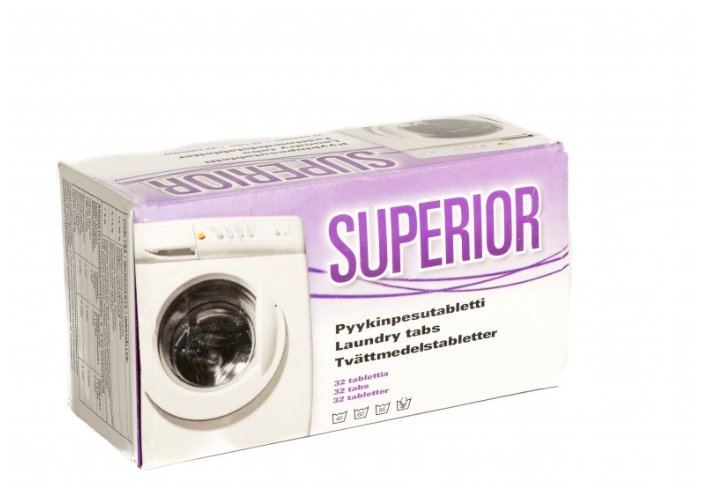Таблетки Superior Laundry Tabs
