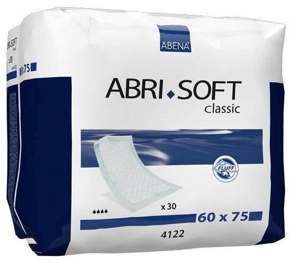 Пеленки Abena Abri-Soft Classic 4122, 60 х 75 см (30 шт.)