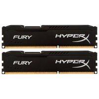Модуль памяти DDR3 16GB (2*8GB) Kingston HX313C9FBK2/16 HyperX FURY Black PC3-10600 1333MHz CL9 1.5V Радиатор RTL