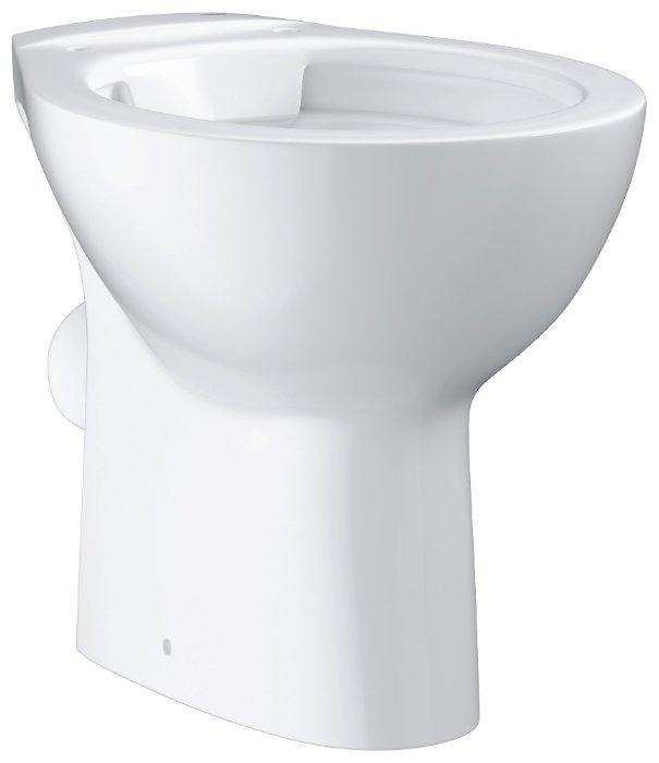 Чаша унитаза напольная Grohe Bau Ceramic 39430000 с горизонтальным выпуском