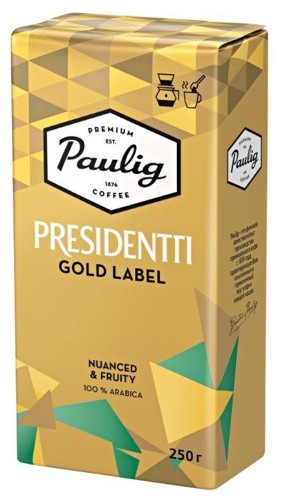 Кофе молотый Paulig Presidentti Gold Label