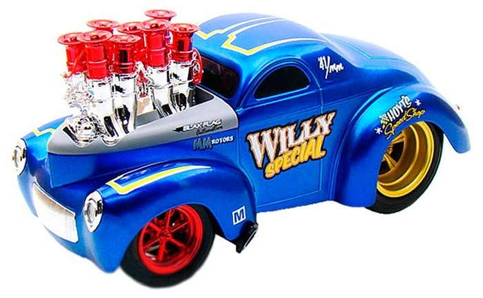 Легковой автомобиль Maisto Muscle Machines - Willys 1941 (32202), в ассортименте 1:18