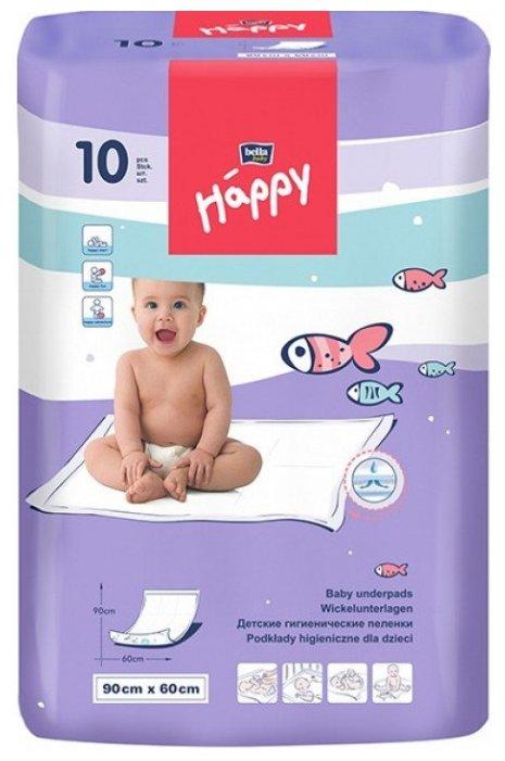 Одноразовые пеленки Bella Baby happy 60x90