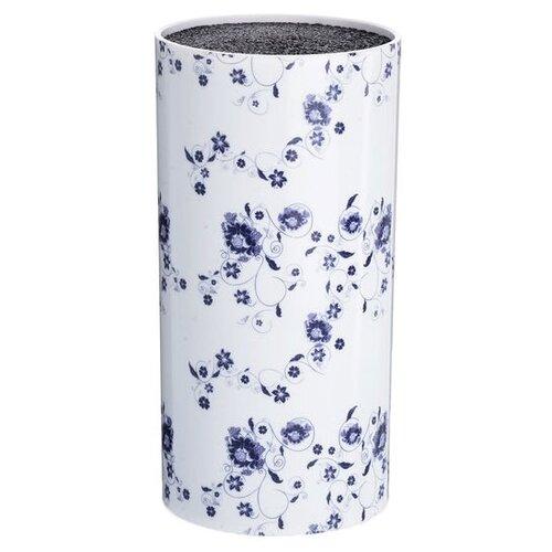 MAYER & BOCH Подставка для ножей Цветы белый / синий