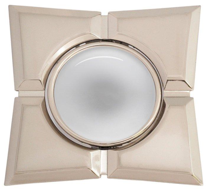 Встраиваемый светильник De Fran 16160 EQ R50, перламутровый никель / хром